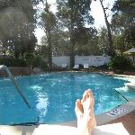 The Pool and my feet!