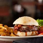 Try one of our delicious burgers with grass-fed beef