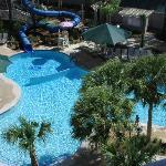 Garden area pool