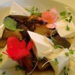 spicy eggplant and tofu dish