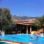 absolute stunning scenery!!! from my sunbed!!!!