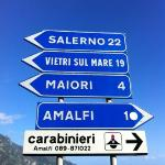 get off the Ravello bus at this signpost ! you have arrived