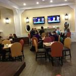 The Breakfast Room is like a large family room!!