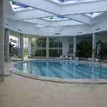 Indoor pool - excellent for a relaxing swim