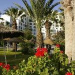 Hotel grounds - lovely gardens