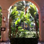 Lobby of Royal Hawaiian, the gardens/grounds