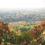 October 16 2012. Sunrise at the western overlook.