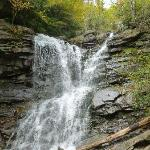 One of 2 waterfalls seen during hike