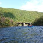 Rafting down Lehigh River