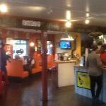 Bent Burgers interior