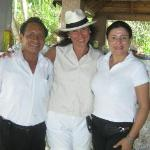 with the kind staff of Villa Romantica
