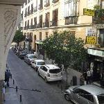 View onto the street