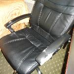 Leather Chair that needs replacing