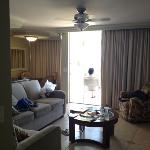 living room from hallway in 706 through mauicondos.com