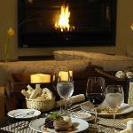 Cena junto al fogon