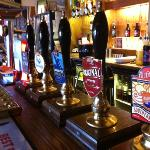 The choice of Real Ales!!