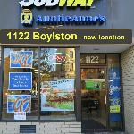 Subway at 1122 Boylston (not 1102 as I wrote in my review)