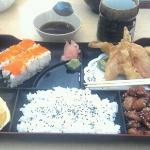 tempura lunch box