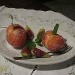 One of the homemade desserts at Malvarina