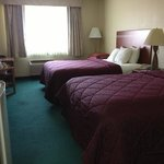 Room 215, two Queens