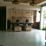 Reception & Business area