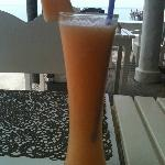 Refreshing Cantaloupe juice at Chill@Hip