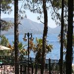Вид с территории отеля