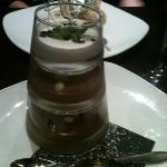 chocolate pyramid desert :)))