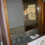Western room bath - very luxurious