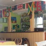 Bar area in the diningroom