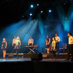 "The cast of ""Celtic Steps"" the show at the INEC Killarney"