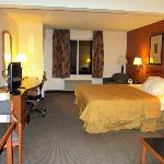 King Suite - large room with large desk and couch and small dinning table