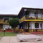 Main buiding, 'hacienda' architecture