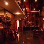 Холл отеля и reception