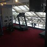 2nd floor of the skyview fitness