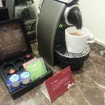 The in-room Nespresso - lovely!