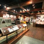 A view of the Heritage Gallery at the Caterpillar Visitors Center