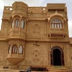 The exterior of Hotel Pleasant Haveli