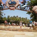 entrada do park