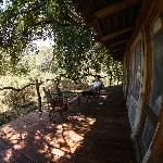 View from andBeyond Lake Manyara room