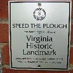 National and Virginia Historic Landmark