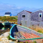 """""""Downtown"""" Peggys Cove"""