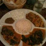 Palak Paneer - sorry for poor quality of pic!