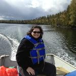 Clearwater Lake on the water - boat rental from the Lodge