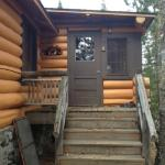 Entrance to Cabin #1