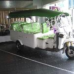 Tuk-Tuk for free transport to local sites