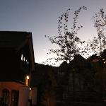 Beautiful night at The Sebastian Hotel in Vail