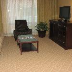 livingroom of suite