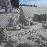Castles on the beach