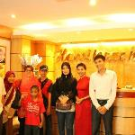 With our valued guests